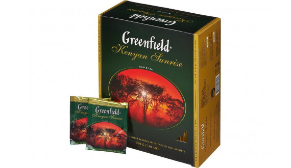 Чай чёрный Greenfield (100 пакетов)