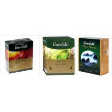 Чай Гринфилд 100пак. (ассортимент, на выбор)